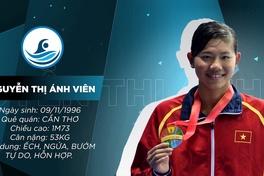 [CHÂN DUNG VĐV] Nguyễn Thị Ánh Viên - Báu vật của bơi lội Việt Nam