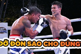 Đỡ đòn - Blocking trong Boxing sao cho đúng?