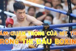 Tầm quan trọng của hít thở trong thi đấu Boxing