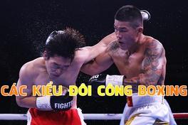 Các kiểu đôi công phổ biến trong boxing