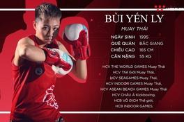 [Chân dung VĐV] Bùi Yến Ly: Nữ võ sĩ thép của làng Muay Việt Nam