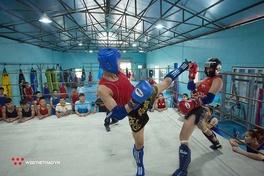 """'Buổi tập của đội tuyển Muay – Kickboxing Hà Nội giữa mùa dịch có gì """"hot""""?"""