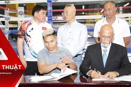 Nguyễn Văn Hải thượng đài ngay sau khi ký hợp đồng chuyên nghiệp