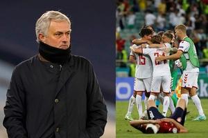 Mourinho: Tuyển Anh nên cẩn thận trước Đan Mạch dù chơi trên sân nhà