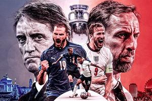 Những điểm nóng trận Italia vs Anh sẽ quyết định ngôi vương EURO 2021