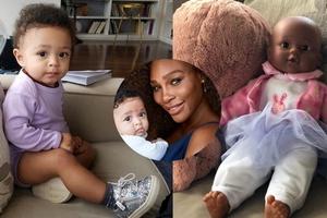 Câu chuyện cảm động đằng sau việc Serena Williams tặng búp bê da màu cho con gái