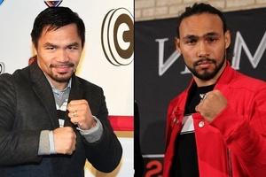 """Huyền thoại Boxing Manny Pacquiao bị Keith Thurman """"cà khịa"""""""