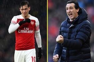 Ozil quyết bám trụ lại Arsenal bất chấp động thái phũ phàng từ Emery