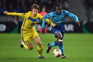 Nhận định Arsenal vs BATE Borisov 0h55, 22/2 (lượt về vòng 1/16 Europa League)