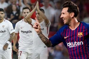 """Messi đã biến sân Sanchez Pizjuan của Sevilla trở thành """"sân chơi"""" như thế nào?"""