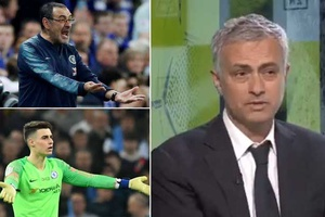 Jose Mourinho phát biểu sốc về hành vi thủ môn Kepa bật lại HLV Sarri
