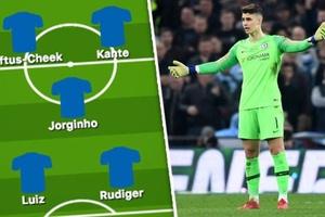 Đội hình Chelsea có gì thay đổi trước Tottenham sau vụ việc của Kepa?