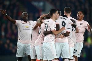 Video Crystal Palace 1-3 Man Utd (Vòng 28 Ngoại hạng Anh)