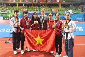 Tuyển Taekwondo Việt Nam liên tiếp đạt huy chương tại Đại hội Võ thuật thế giới Chungju 2019