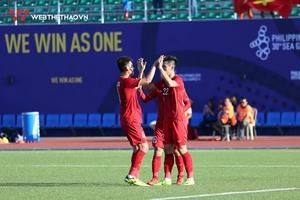 Kết quả U22 Việt Nam vs U22 Lào (FT: 6-1): Thêm một cơn mưa bàn thắng