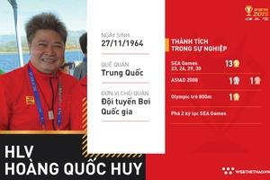 """Hoàng Quốc Huy, """"người tầm vàng"""" của làng bơi lội Việt Nam"""