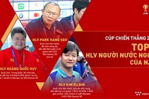 Top 3 đề cử HLV người nước ngoài của năm Cúp Chiến thắng 2019