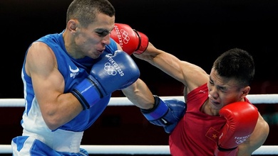 Trực tiếp boxing Olympic: Nguyễn Văn Đương vs Erdenebatyn Tsendbaatar