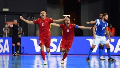 Link xem trực tiếp futsal Việt Nam vs Séc, FIFA World Cup 2021