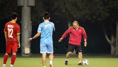 HLV Park Hang Seo chú trọng rèn kỹ chiến thuật cho U22 Việt Nam