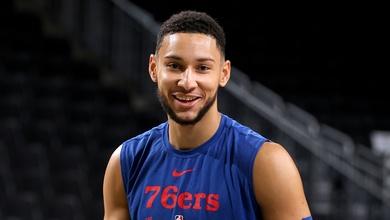 """Ben Simmons bị HLV """"chê"""" về thể trạng, chưa rõ ngày ra sân cho Philadelphia 76ers"""