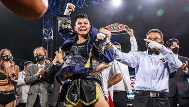 Chùm ảnh: Nguyễn Thị Thu Nhi đánh bại Etsuko Tada, lên ngôi vô địch WBO thế giới