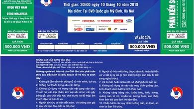 7.000 vé được bán cho người hâm mộ ở trận Việt Nam vs Nhật Bản