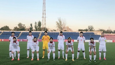 Bảng xếp hạng bóng đá nữ Việt Nam ở vòng loại Asian Cup 2022