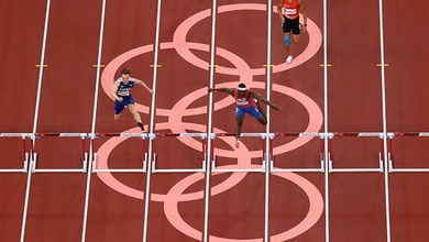 Sức hút khó cưỡng từ đường chạy 400m rào Olympic Tokyo