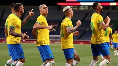U23 Brazil vào bán kết Olympic nhờ bộ đôi Richarlison - Cunha