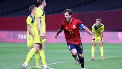 Oyarzabal giúp Tây Ban Nha ghi bàn đầu tiên ở Olympic sau 21 năm