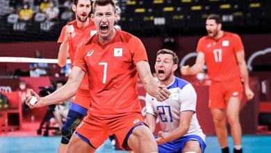 Bóng chuyền nam Nga (ROC) chắc suất vào tứ kết Olympic Tokyo 2021