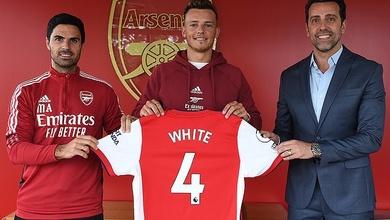 Arsenal biến Ben White trở thành cầu thủ đắt thứ 3 mọi thời đại