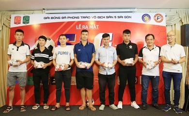 8 đội bóng tranh tài giải phong trào số 1 sân 5 Sài thành