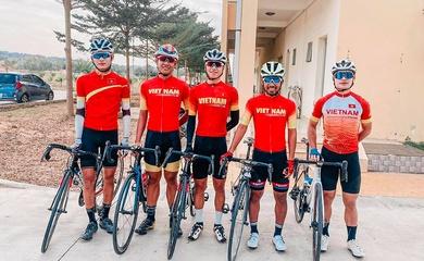 """Đội tuyển xe đạp đường trường Việt Nam chuẩn bị kế hoạch """"săn vàng"""" SEA Games 31"""