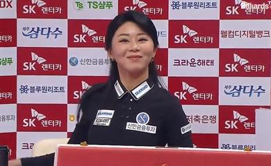 Người đẹp Kim Ga Young lỗi hẹn ngôi hậu giải billiards PBA World Championship