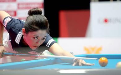 Vẻ đẹp đầy quyến rũ của Kim Ga-young tại giải PBA Team League Round 2021/2022