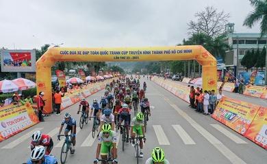 Trực tiếp đua xe đạp Cúp truyền hình HTV 2021 hôm nay 9/4