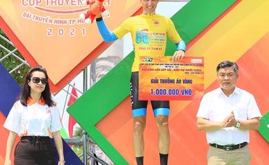 Áo vàng đổi chủ sau chặng 14 giải xe đạp Cúp truyền hình HTV 2021