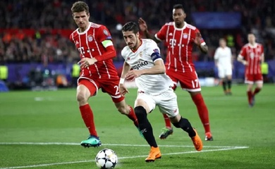 Link xem trực tiếp Bayern Munich vs Sevilla, siêu Cúp châu Âu 2020