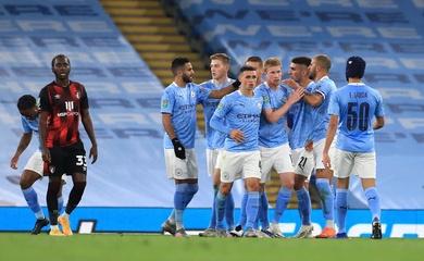 Video Highlights Man City vs Bournemouth, cúp LĐ Anh 2020 đêm qua