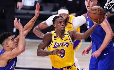 Rajon Rondo vượt cố huyền thoại Kobe Bryant, sắm vai nhân tố X cho LA Lakers