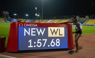 8 kỷ lục được xác lập ở giải điền kinh Doha Diamond League 2020