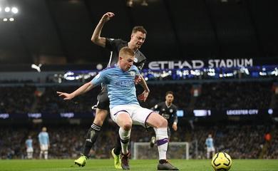 Lịch sử đối đầu, đội hình Man City vs Leicester, Ngoại hạng Anh 2020