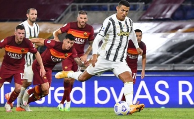 Video Highlights AS Roma vs Juventus, Serie A 2020 đêm qua