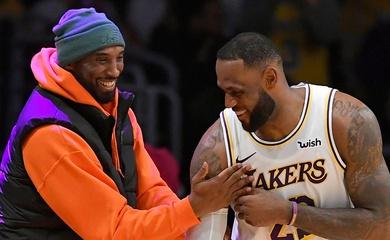 LeBron James tiết lộ điều anh cảm thấy tiếc nuối nhất về Kobe Bryant