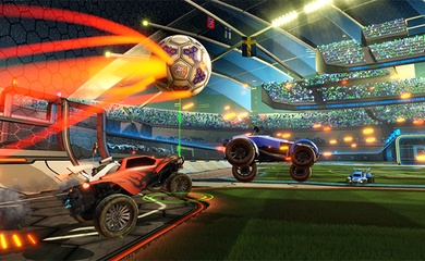 Cách chơi Rocket League, game đá bóng bằng siêu xe miễn phí trên Epic