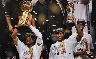 Nhìn lại 5 loạt trận NBA Finals trong lịch sử Miami Heat
