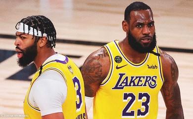 LeBron cùng Anthony Davis rực sáng, LA Lakers thắng blowout Miami Heat tại Game 1