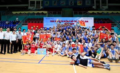 Thành Phố Hồ Chí Minh và Sóc Trăng giành HCV bóng rổ 5x5 U16 Quốc gia